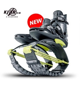 Kangoo Jumps Boots XR3 Black/Yellow