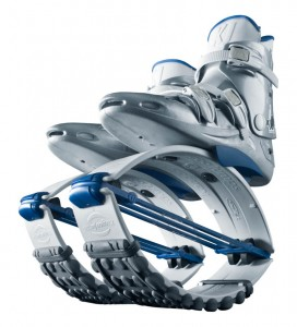 Kangoo Jumps Boots White Edition - White/Blue
